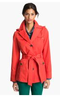 Ellen Tracy Short Trench Coat