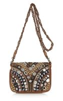 Antik Batik Orelia Embellished Shoulder Bag