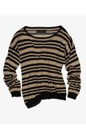 Rag & Bone Gansevoort Metallic Striped Top