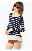 Nasty Gal Stripe Top - Lyst