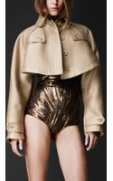 Burberry Prorsum Double Duchess Cape Jacket
