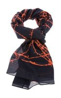Tom Binns Contrast Barbed Wire Shawl