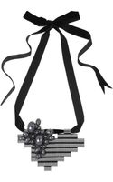 Mawi Ribbon Tied Necklace - Lyst