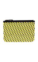 Pierre Hardy Large Cubist Canvas Clutch