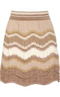 M Missoni Crochetknit Cottonblend Skirt