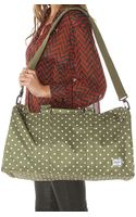 Herschel Supply Co. The Ravine Bag in Olive Polka Dot