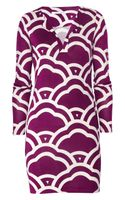 Diane Von Furstenberg Silk Jersey Dress