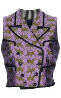 Jean Paul Gaultier Double Breasted Silk Vest