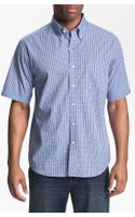 Cutter & Buck Sunset Hill Check Sport Shirt Big Tall