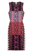 M Missoni Cutout Knitted Cottonblend Dress