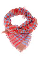 Marc By Marc Jacobs Checked Scarf - Lyst