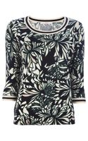 Jucca Floral Sweater