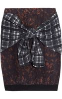 3.1 Phillip Lim Printed Silk Skirt