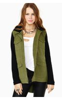 Nasty Gal Base Camp Army Jacket