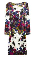 Erdem Irene Floralprint Silksateen Dress