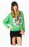 Nasty Gal Easy Tiger Sweatshirt