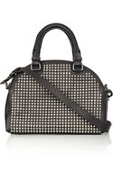 Christian Louboutin Panettone Small Spiked Leather Bowling Bag