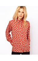 ASOS Collection Asos Shirt in Spot Print - Lyst
