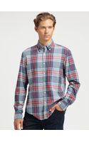 Gant Rugger Madras Plaid Sportshirt - Lyst