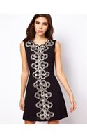 ASOS Collection 60's Embellished Shift Dress