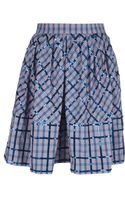 Marc By Marc Jacobs Sequin Checked Skirt - Lyst