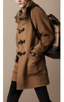Burberry Double Faced Wool Duffle Coat