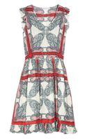 Paul & Joe Sister Karla Paisley Print Voile Dress - Lyst