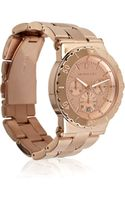 Michael Kors Rose Goldplated Stainless Steel Watch - Lyst