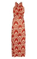 T-bags Printed Jersey Maxi Dress - Lyst