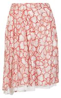 Diane Von Furstenberg Adella Embroidered Silk Skirt - Lyst