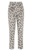 Stella McCartney Christine African Floralprint Silk Tapered Pants