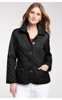 Cole Haan Short Quilted Jacket Petite - Lyst