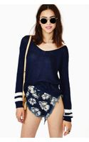 Nasty Gal Freshman Stripe Knit