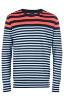 Paul Smith Striped Top - Lyst