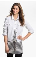 Two By Vince Camuto Denim Jacket - Lyst