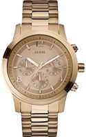 Guess Stainless Steel Chronograph Watch