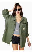 Nasty Gal Sweet Surrender Camo Jacket