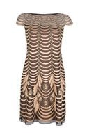 Temperley London Velvet Paneled Lace Dress - Lyst