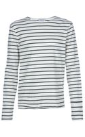 Melinda Gloss Striped Top - Lyst