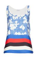 Vionnet Printed Tank Top