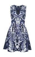 McQ by Alexander McQueen Kaleidoscope Beetle Print Dress