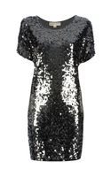 Michael by Michael Kors Sequin Dress - Lyst