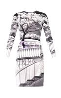 Mary Katrantzou Uppety Do Silhouetteprint Dress - Lyst
