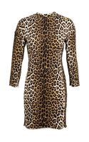 3.1 Phillip Lim Leopard Printed Sweater Dress - Lyst