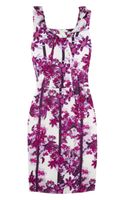 Erdem Zhanna Floral-print Silk Dress - Lyst