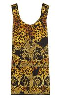 Versace Printed Silk Dress
