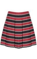 Alice + Olivia Davis Short Pleat Poof Skirt