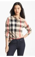 Burberry Brit Aartu Check Print Shirt