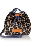 Marc By Marc Jacobs Too Hot To Handle Leopardprint Calf Hair Bag