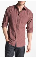 John Varvatos Slim Fit Sport Shirt - Lyst